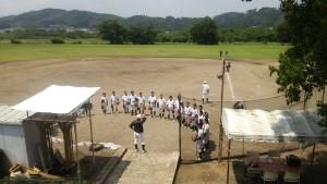 6日の土曜日は、1日練習を行いました。 梅雨の合間の練習日和でした。